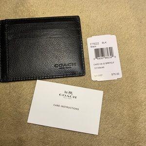 Coach Men's Slim Card Wallet